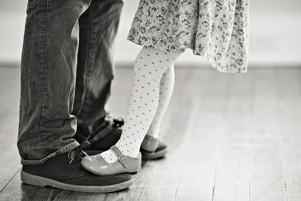 Vader en dochter dans (2)