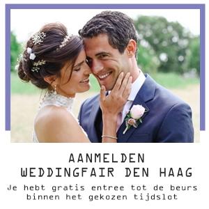 weddingfair trouwbeurs den haag gratis entree