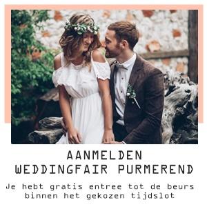 weddingfair trouwbeurs purmerend gratis ticket