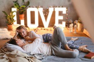decoratie slaapkemer voor jonge stellen