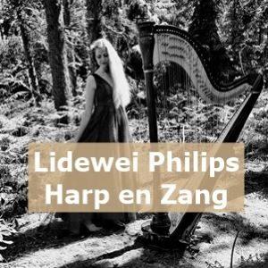 Lidewei Philips Harpiste en Zangeres WeddingFair